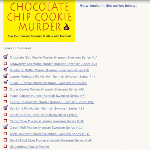 keep track of books you have read cozy mysteries unlimited