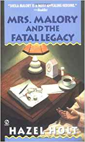 Mrs. Malory and the Fatal Legacy (Mrs. Malory Series #10)