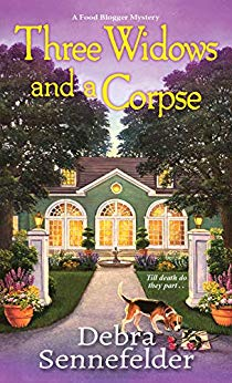 Three Widows and a Corpse (Food Blogger Mystery #3)