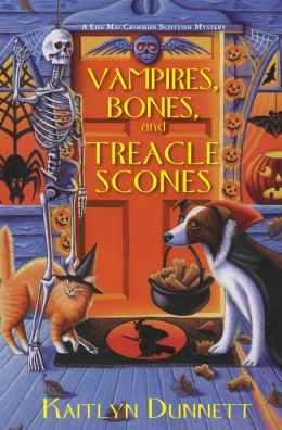 Vampires, Bones and Treacle Scones (Liss MacCrimmon Mystery #7)
