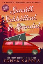Sunsets, Sabbatical and Scandal (Camper & Criminals Mystery #10)